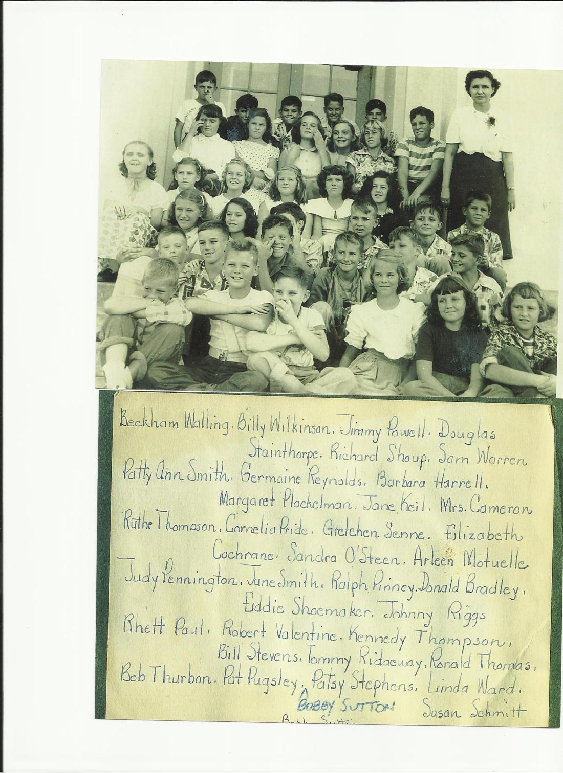 Southboro Class of 1952